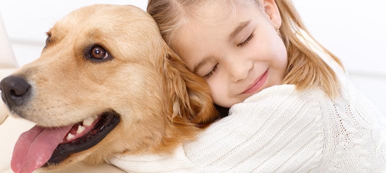 huggingdog